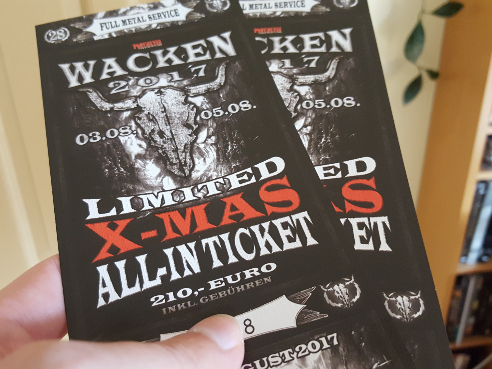 Wacken Tickets