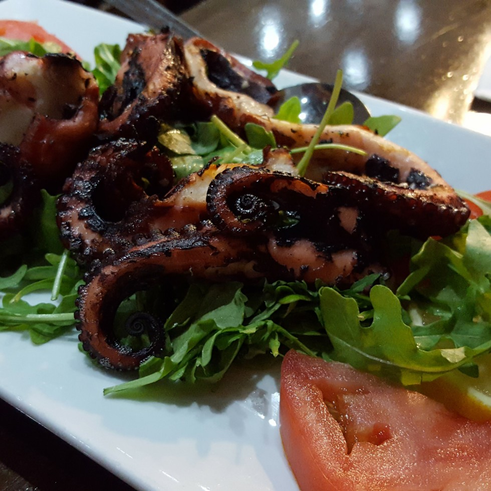 Fried Octopus