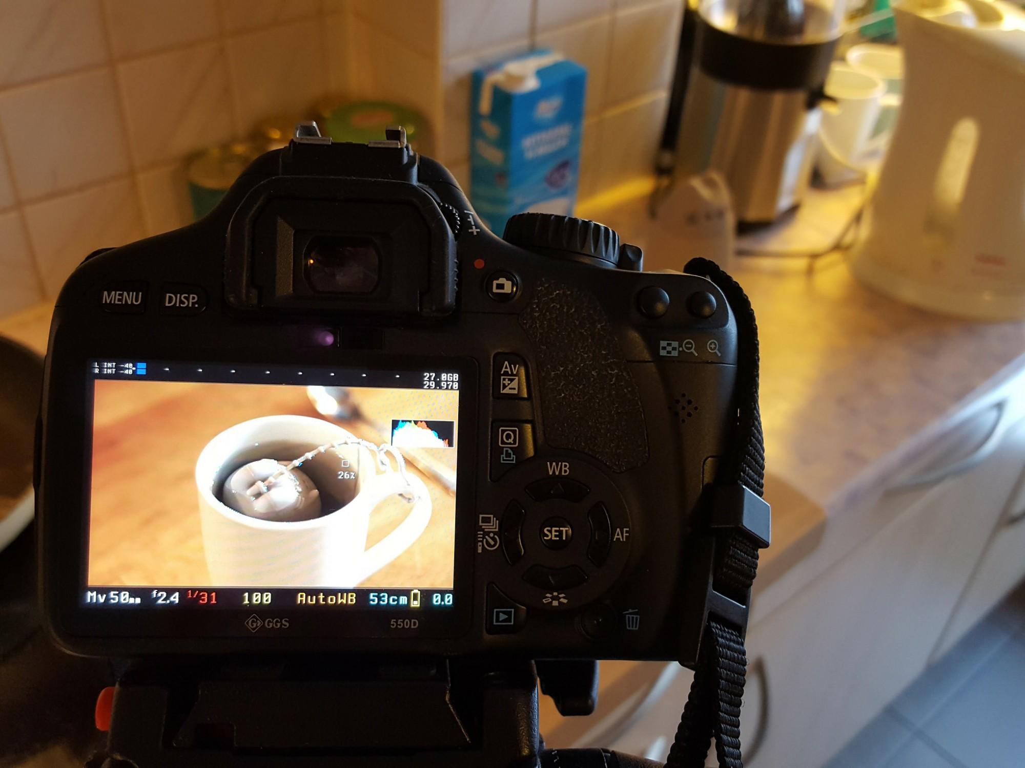 Filming Tea