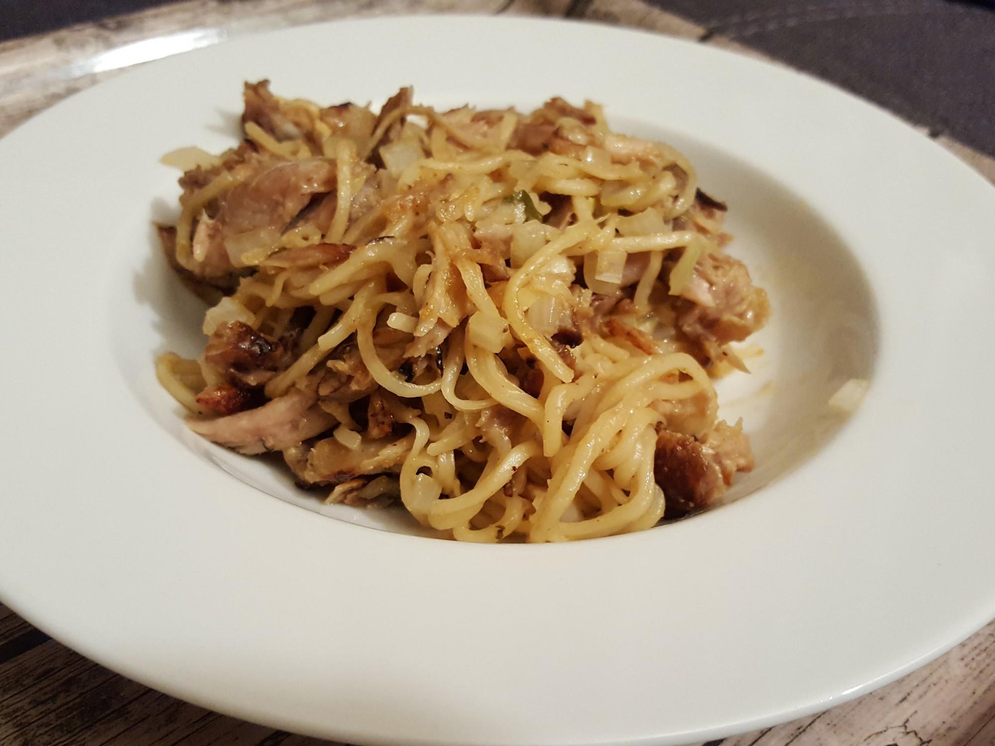 Leftover Noodles